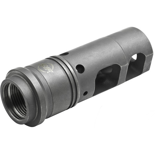 SureFire SFMB-338 Muzzle Brake/Suppressor Adapter for 8.6mm Caliber Rifle with M18x1 Metric Thread