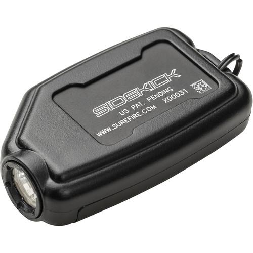SureFire Sidekick Ultra-Compact Variable-Output LED Flashlight (Black)