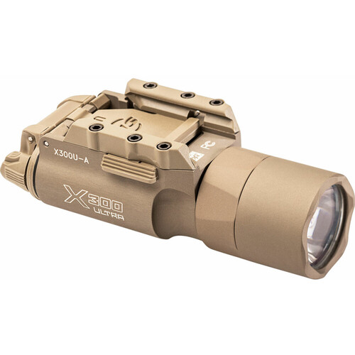 SureFire X300U-A Ultra-High-Output LED Handgun Light with Rail-Lock Mounting System (Tan)