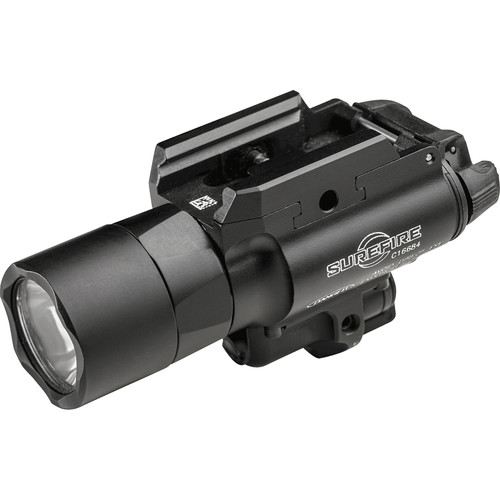 SureFire X400-A-RD Ultra LED Weapon Light with Red Aiming Laser Sight