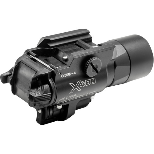 SureFire X400V-IRC Dual-Spectrum LED WeaponLight with Infrared Laser