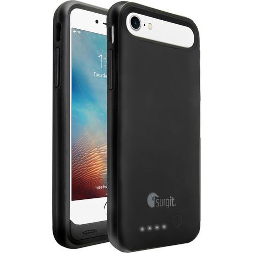 Surgit Battery Case for iPhone 7 Plus/8 Plus (Black)