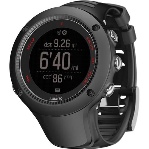 SUUNTO Ambit3 Run Sport Watch (Black)