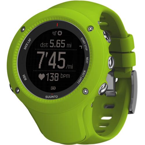 SUUNTO Ambit3 Run Sport Watch (Lime)