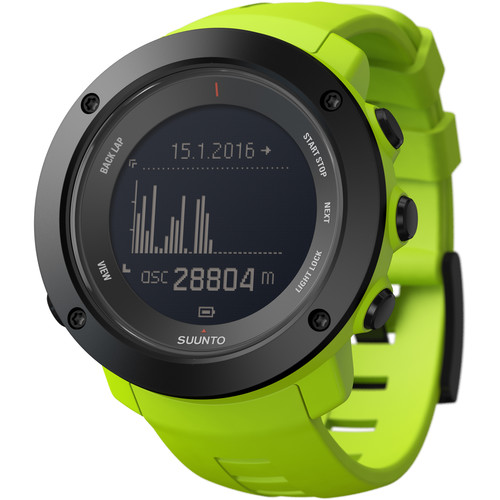 SUUNTO Ambit3 Vertical Sport Watch (Lime)