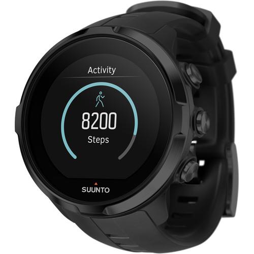 SUUNTO Spartan Sport Wrist HR Watch (All Black)
