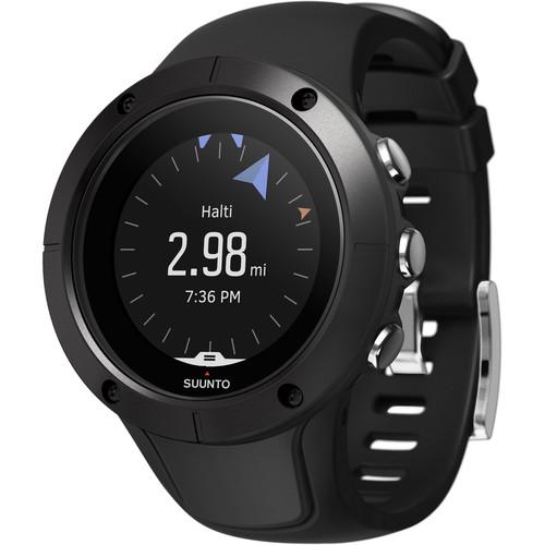 SUUNTO Spartan Trainer Wrist HR Watch (Black)