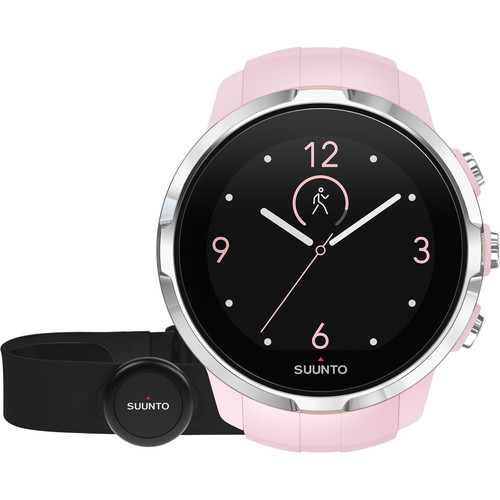 SUUNTO Spartan Sport Watch with Smart Sensor Heart Rate Monitor (Sakura)