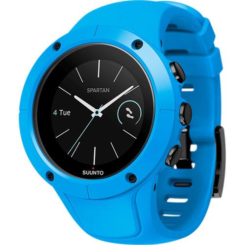 SUUNTO Spartan Trainer Wrist HR Watch (Blue)