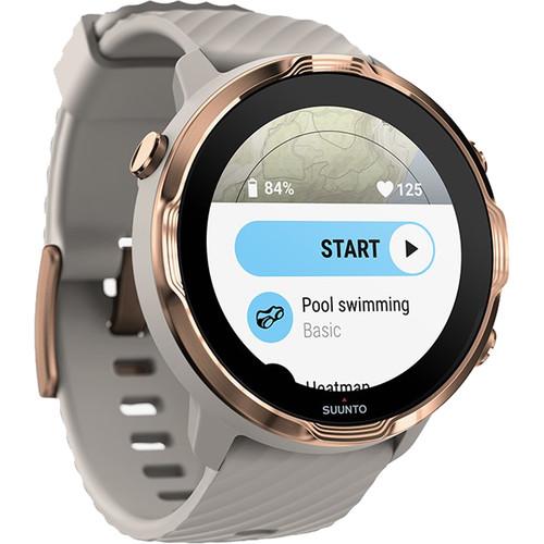 SUUNTO 7 GPS Sport/Smart Watch (Sandstone Rosegold)