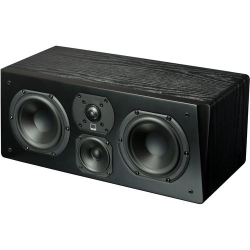 SVS Prime Three-Way Center Channel Speaker (Premium Black Ash)
