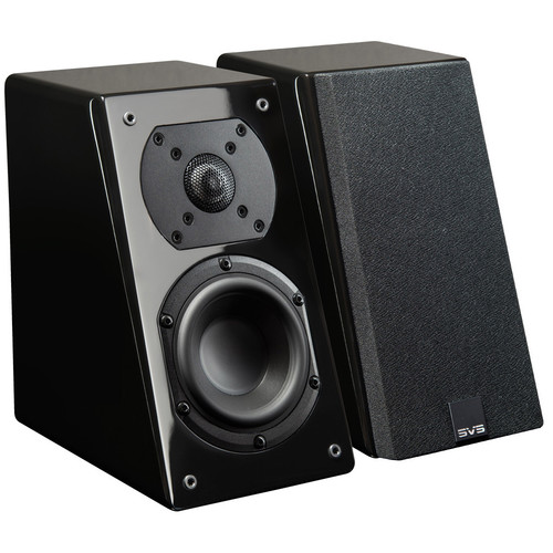 SVS Prime Elevation 2-Way Atmos Add-On Speakers (Piano Gloss Black, Pair)