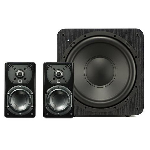 SVS Prime Satellite 2.1-Channel Home Theater Speaker System (Premium Black Ash)
