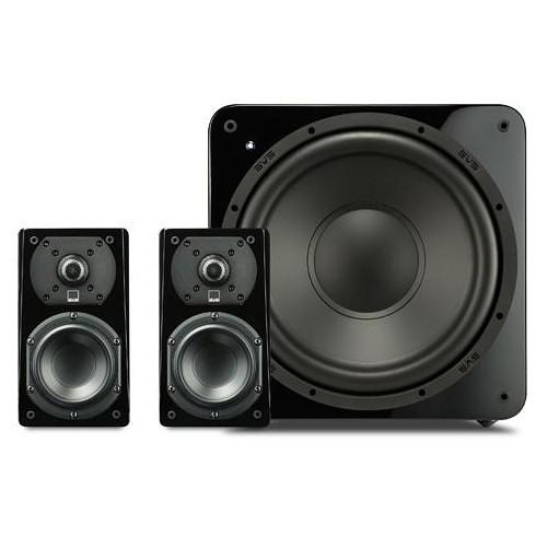 SVS Prime Satellite 2.1-Channel Home Theater Speaker System (Piano Gloss Black)