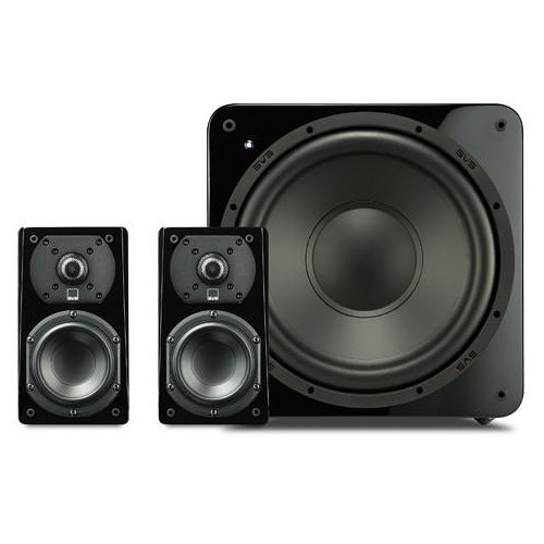 SVS 2.1 Package with 2-Prime Satellites and a SB-1000 Subwoofer (Piano Gloss Black)