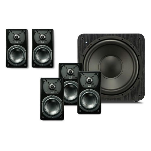 SVS 5.1 Package with 5-Prime Satellites and a SB-1000 Subwoofer (Black Ash)