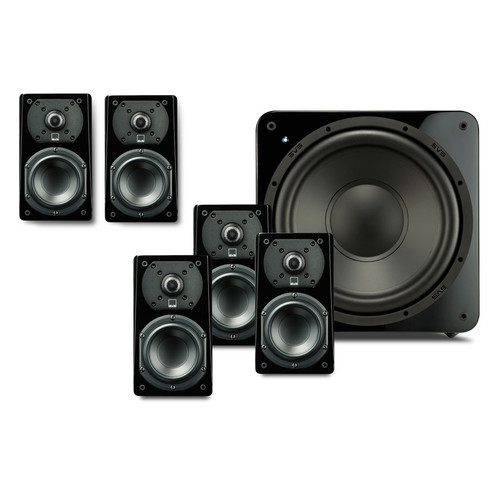 SVS Prime Satellite 5.1-Channel Home Theater Speaker System (Piano Gloss Black)