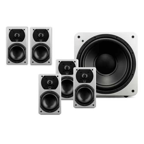 SVS 5.1 Package with 5-Prime Satellites and a SB-1000 Subwoofer (White)