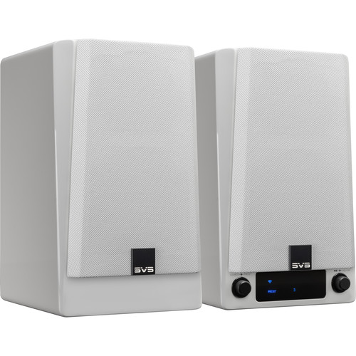 SVS Prime Wireless Speaker System (Piano Gloss White, Stereo Pair)