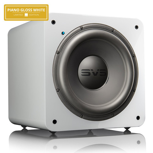 "SVS SB-2000 12"" 500W Subwoofer (Piano Gloss White)"
