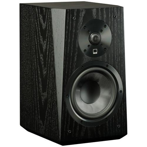 SVS Ultra 2-Way Bookshelf Speakers (Pair, Black Oak Veneer)
