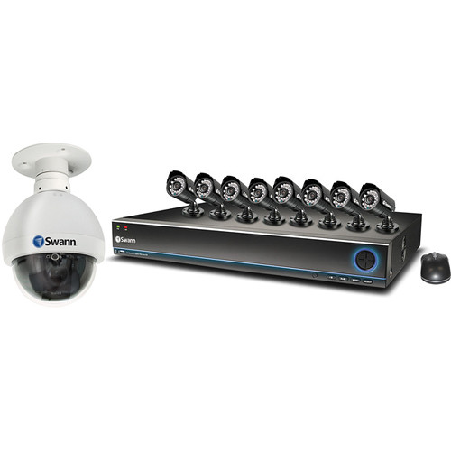 Swann 16-Channel TruBlue DVR and PRO-530 & PRO-751 Camera Kit