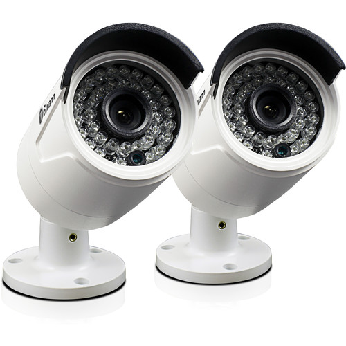 Swann 4MP Outdoor Network Bullet Camera with Night Vision (2-Pack)