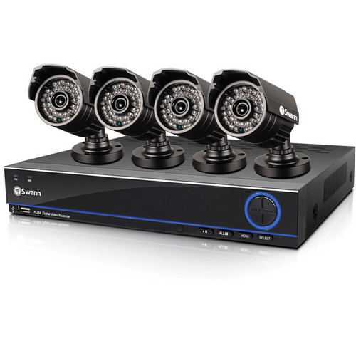 Swann Swann DVR8-3200 8-Channel 960H Digital Video Recorder & 4 PRO-642 Camera System