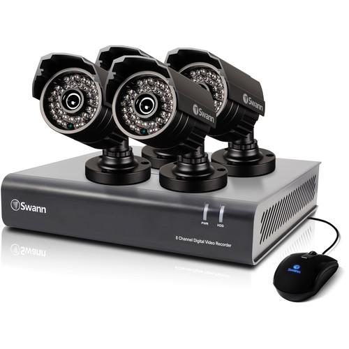 Swann DVR8-4400 8-Ch DVR with Four 720 TVL PRO-735 Cameras (500 GB)