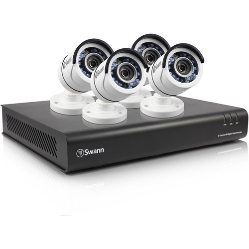 Swann SWDVK-845004 8-Channel 1080p DVR with 1TB HDD and 4 1080p Outdoor Bullet Cameras