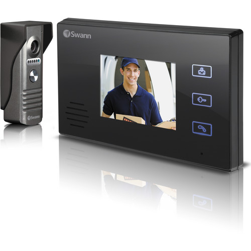 "Swann SWHOM-DP870C Doorphone Video Intercom with 3.5"" Color LCD Monitor"