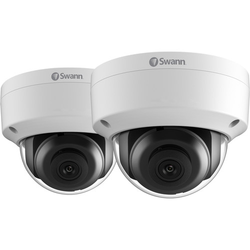 Swann NHD-851 5MP Outdoor Network Dome Camera with Night Vision (2-Pack)