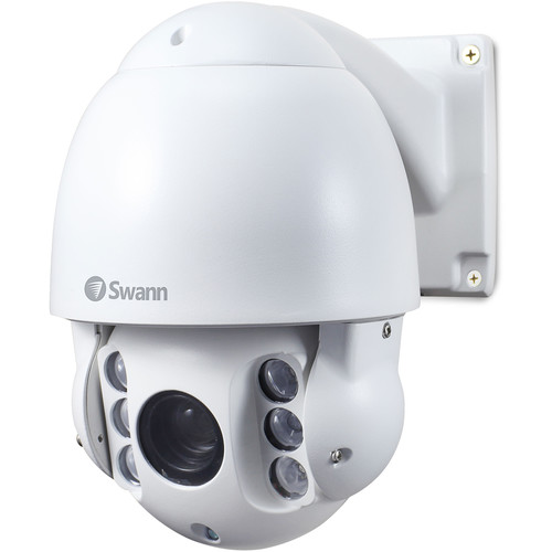 Swann Pro Series SWPRO-1080PTZ-US 1080p Outdoor PTZ Dome Camera with Night Vision