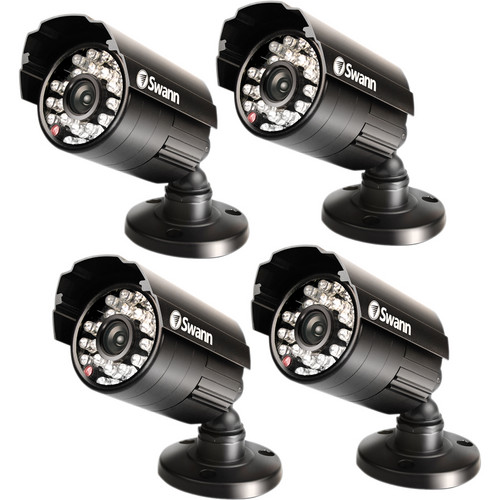 Swann Pro-500 Multi-Purpose Day/Night Security Camera 4 Pack