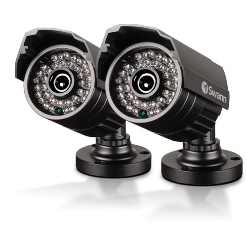 Swann PRO-535 Multi-Purpose Day & Night Indoor/Outdoor Security Camera (2-Pack) (NTSC)