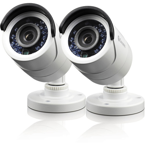 Swann Pro-540 Day/Night 650TVL Indoor/Outdoor Security Camera 2 Pack