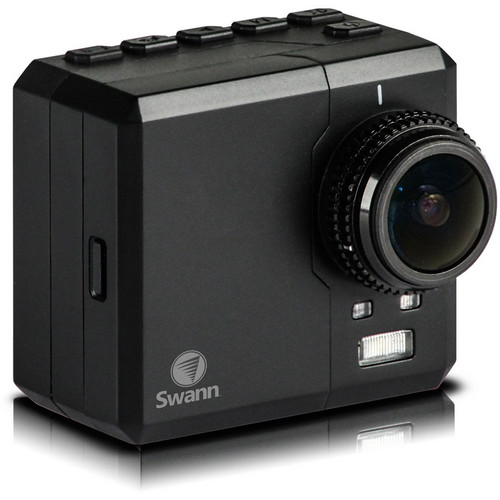 Swann Atom HD Wearable Action Camera with LCD Screen