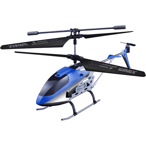 Swann Micro Lightning X-Squadron RC Helicopter (Blue Bolt)