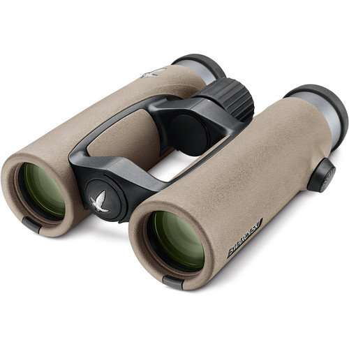 Swarovski 10x32 EL32 Binocular with FieldPro Package (Sand Brown)