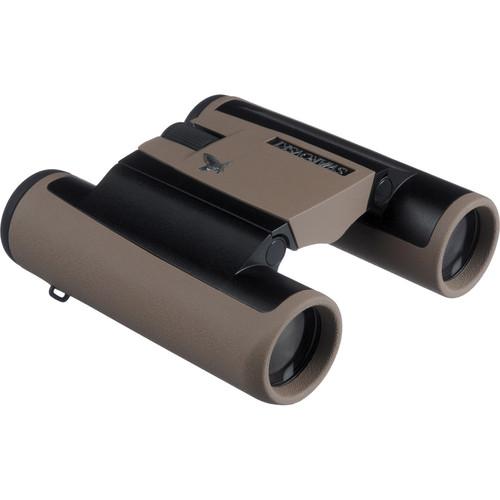 Swarovski 10x25 CL Pocket Traveler Binoculars (Sand Brown)