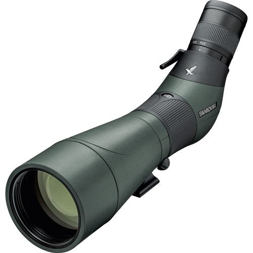 Swarovski ATS-80 HD Spotting Scope (Angled Viewing, Eyepiece Required, Arca-Swiss Shoe)