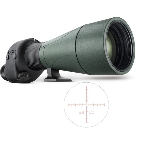 Swarovski 80mm STR 80 Spotting Scope (Straight Viewing, MOA Reticle)