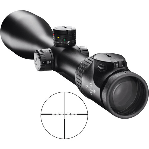 Swarovski 2.5-15x56 Z6 2nd Generation BT Riflescope (4W)