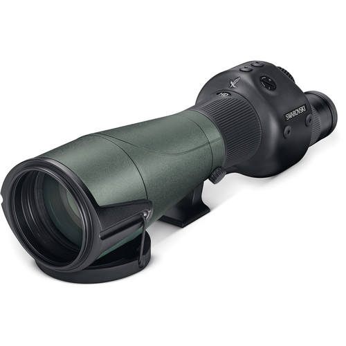 Swarovski 25-50x80 STR 80 Spotting Scope (Straight Viewing, MOA Reticle)