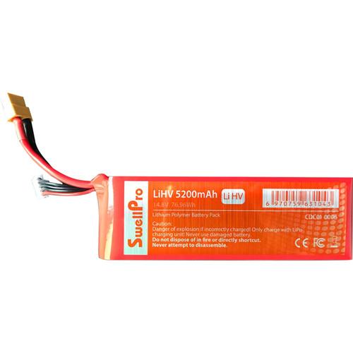 SwellPro High-Voltage 76.96Wh 14.8V 5200mAh LiHV Battery for SplashDrone 3+