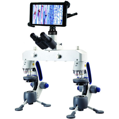"""Swift M3-F-BTW1 Forensic Comparison Microscope with WiFi Camera & 8"""" Tablet"""