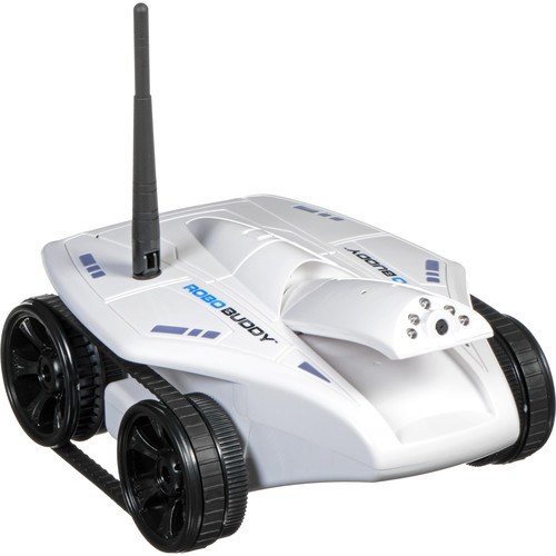 Swift Stream Robo Buddy with Built-In Adjustable HD 720P Wi-Fi Video Camera