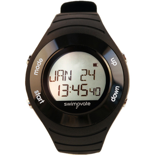 Swimovate PoolMate HR Swimming Watch (Black)