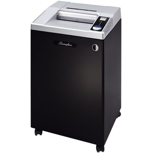Swingline TAA Compliant CX25-36 Cross-Cut Commercial Shredder with Jam Stopper (25 Sheets / 20+ Users)