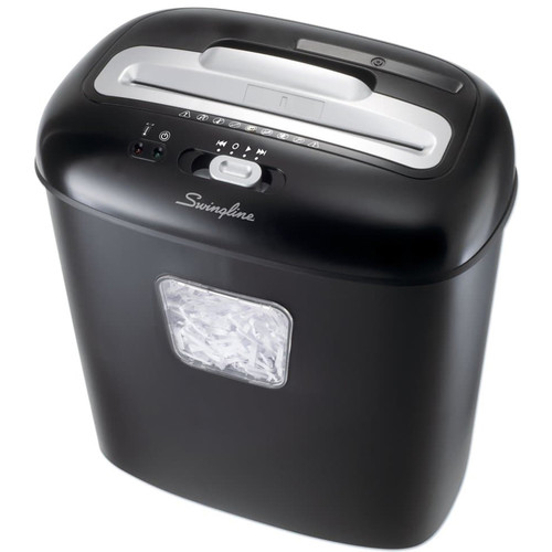 Swingline EM07-06 Micro-Cut Jam-Free Shredder (7 Sheets, 1-2 Users)